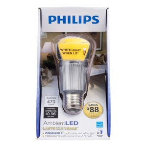 While a good effort in effiency, the color is 80CRI, and the odd bulb shape and metal base can cause fixture appearance issues. Consumers are also not impressed with the yellow off-state appearance.