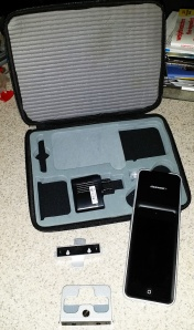 This is the Lighting Passport Flagship set. Includes case and accessories in a neat package.