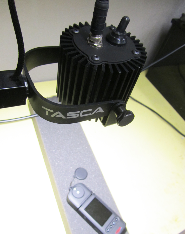 The Tasca task lighting head. My pet project for more than 6 years now.