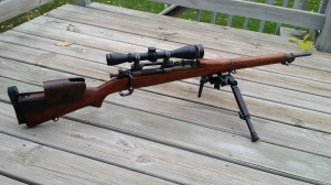 Even a WW2 era M1903 (1942) resto-mod target rifle
